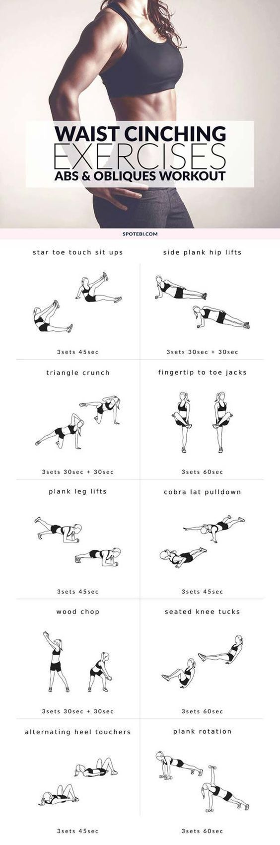 Abs workout-no gym required! Follow our Instagram page for more daily workouts. https://www.instagram.com/diaryofafitmommyofficial/