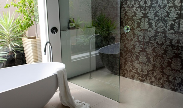 2010 winnner of Reece bathroom of the Year - I love this bathroom, especially the feature tiled wall.