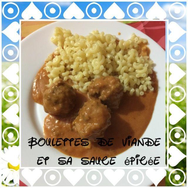Boulette de viande hach en sauce companion pinterest sauces and tags - Boulette de viande en sauce ...