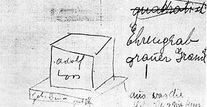 Adolf Loos Este arquitecto diseño su propia tumba en 1931 y se realizó en 1958 por su discípulo Henrich Kulka, siguiendo uno de sus bocetos originales, está situada en el cementerio central de Viena. La causa de su muerte fue por una enfermedad nerviosa el 23 de Agosto de 1933 en Viena a los 63 años. Su tumba es un bloque macizo cuadrado de granito con su nombre en una de las caras, apoyado sobre una losa, está situada en una zona del cementerio donde se encuentran hombres y mujeres ilustres