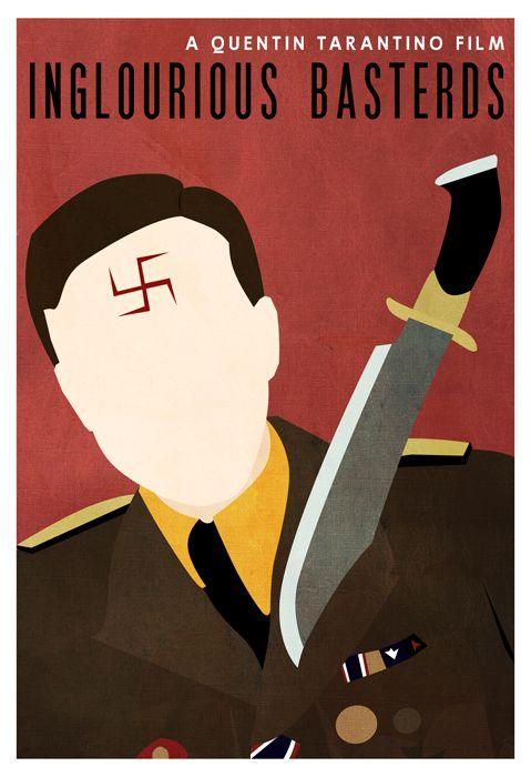 Parce que j'aime quand Diane Krüger me parle en allemand.  Et ajoutons que voir des nazis se faire scalper, c'est toujours plaisant.