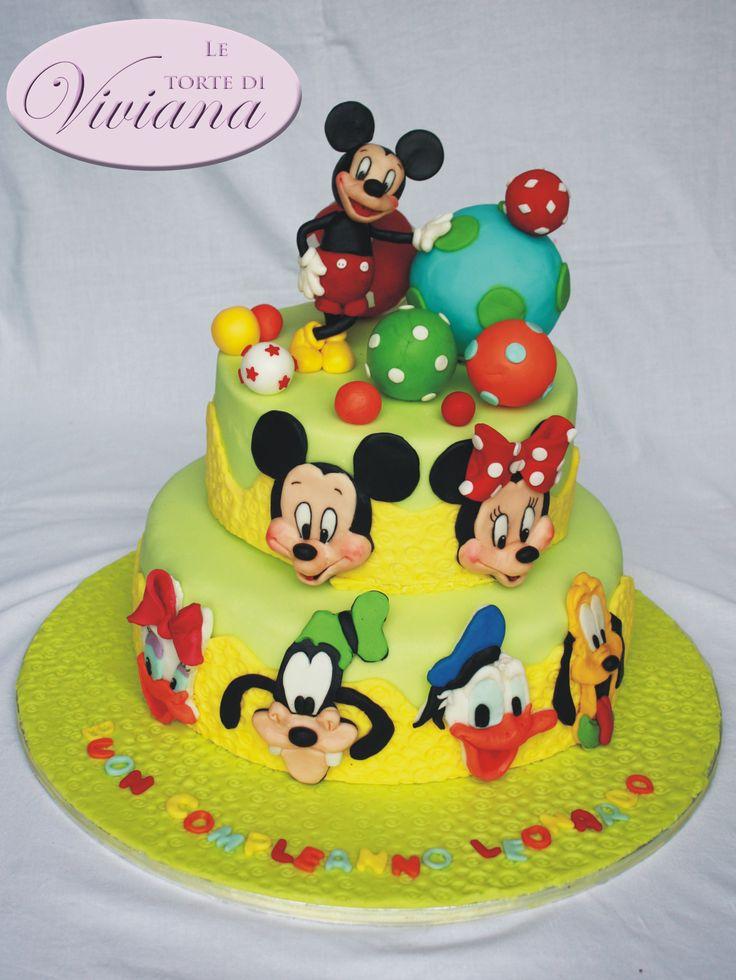 mikey mouse topolino cake