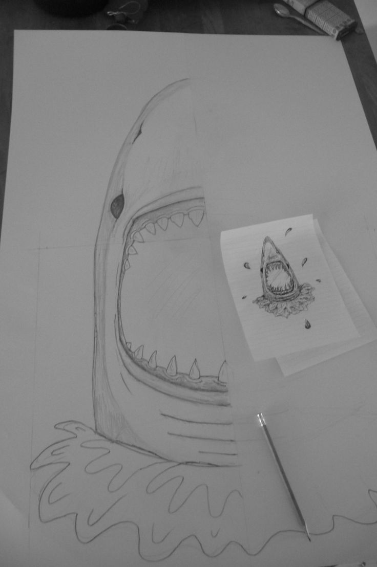SHARK...! One of our newest mirrors, still only at the drawing and template stage...