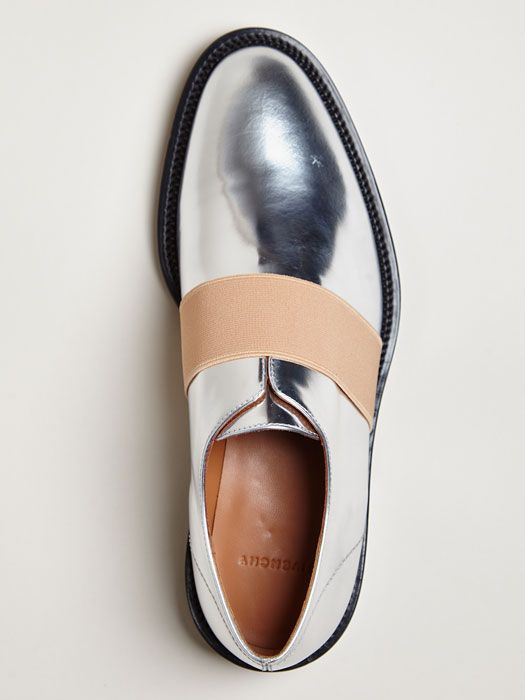 Givenchy Women's Metallic Oxford Shoes ...now go forth and share that BOW  DIAMOND style ppl! Lol ;-) xx