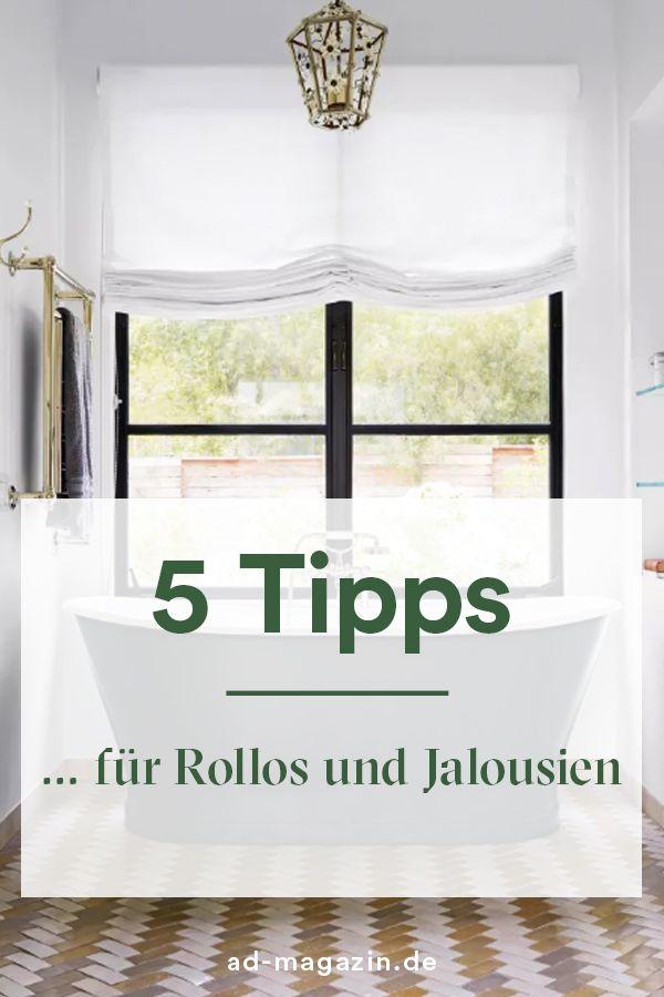 Relativ Jalousien und Rollos – Tipps von Experten | How to | Fenster IQ37