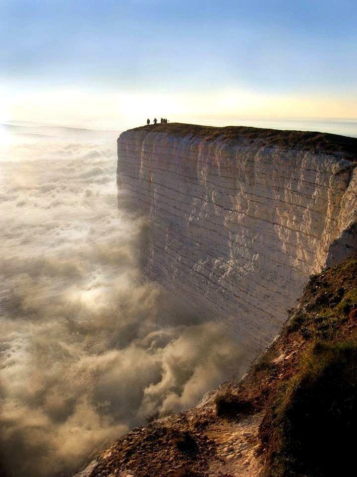 The Edge of the Earth - Beachy Head, England http://abnb.me/e/1Bw4yfnlSC