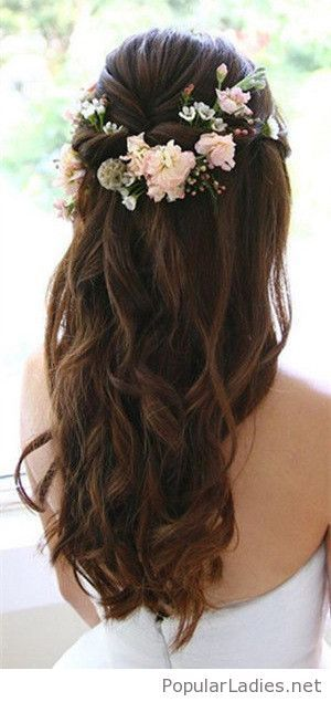 Lovely brown hair look