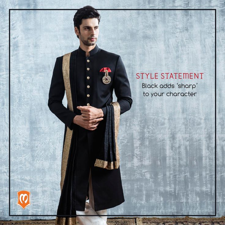 You can never go wrong with Black. Watch this space for more style statements. #CelebrationWear