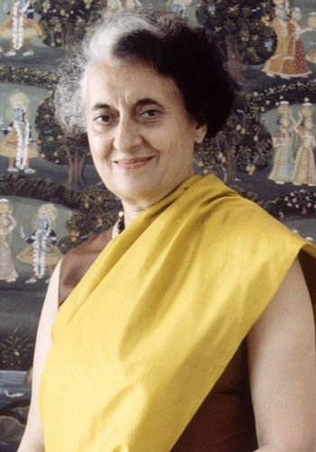 "Indira Gandhi    ""Forgiveness is a virtue of the brave""    The charismatic former prime minister of India for a total of 15 years, Gandhi paved the way for democracy in India until her assassination in 1984."