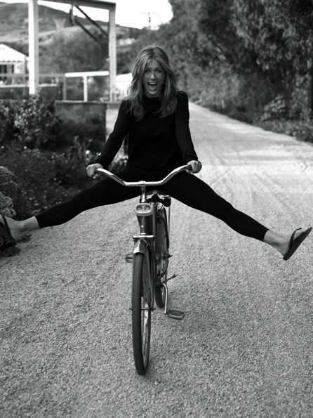 Young. Wild. And free. Jenifer Aniston, photographed by Alexi Lubomirski.