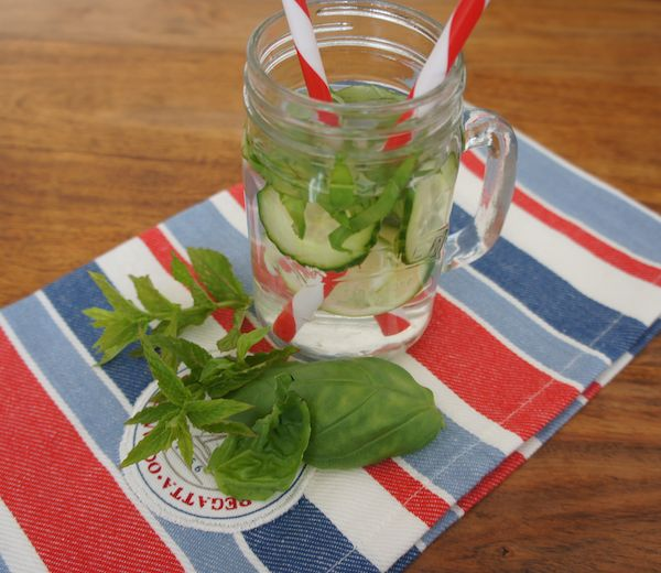 Green Infused Water Recipe