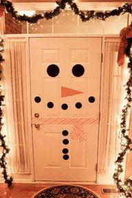 Frosty the door-man