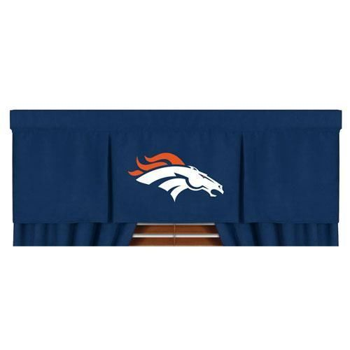 Nfl Denver Broncos Valance Mvp Football Window Treatment