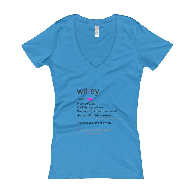 Wifey Definition Women's V-Neck T-shirt