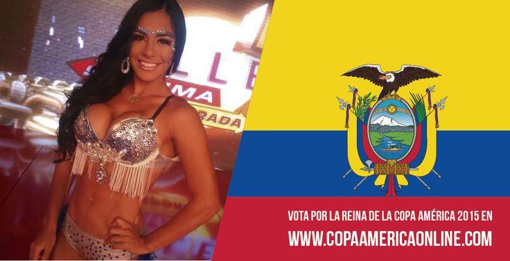 Candidata a Reina de la Copa América 2015, representando a Ecuador Julissa Jimenez  a Votar por tu favorita #ReinaCopaAmerica2015 http://ow.ly/Ojdjq