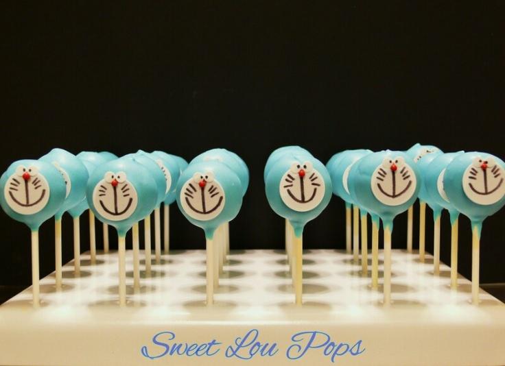 Doraemon Cake Pops...