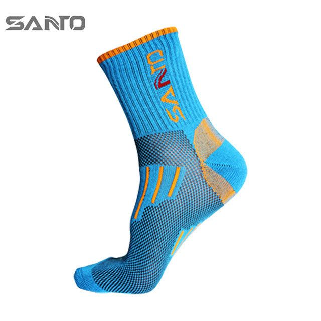 Coolmax /Cotton Women Cycling Socks High Elasticity Outdoor Sports Socks Deodorant Breathable Hiking /Running Socks