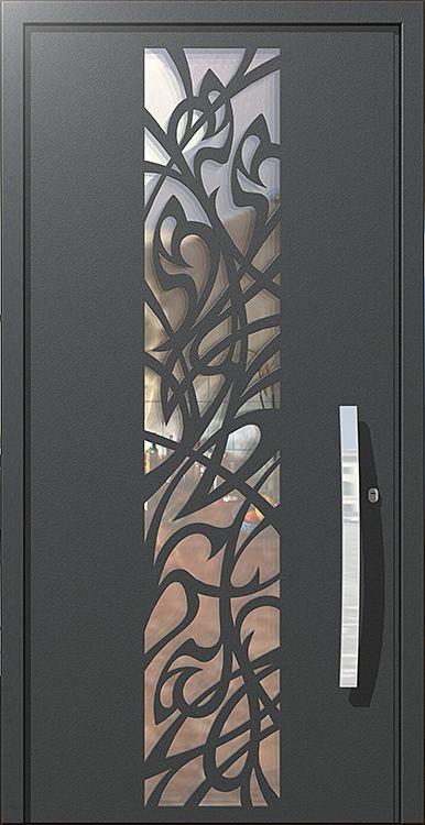 דלת ארט-נובו, דלתות כניסה מעוצבות בנגיעה אומנותית ליין - ART- רשפים