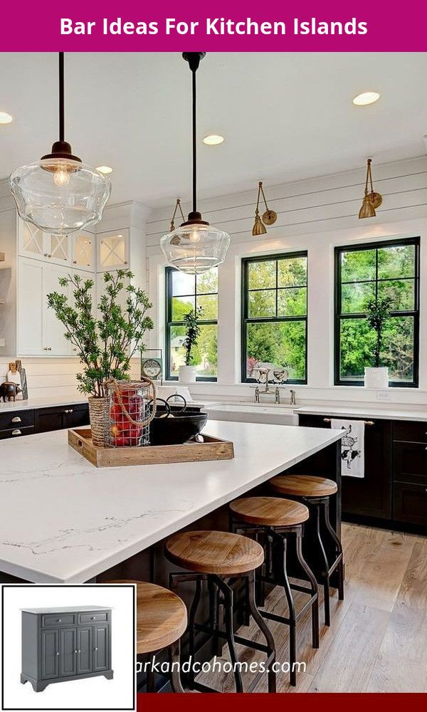 Kitchen Island Lighting Ideas Pictures And For Kitchen Islands Pinterest Modern Farmhouse Kitchens Home Decor Kitchen Farmhouse Kitchen Lighting