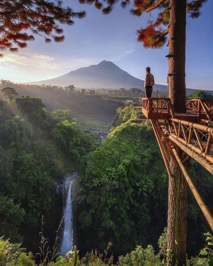 Kedung Kayang Waterfall, Java Island, Indonesia (With