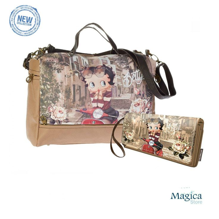 Womans Fashion Tuscany bag + purse BETTY BOOP Town * New | Authentic | Licensed* #Karactermania #Tuscanybag