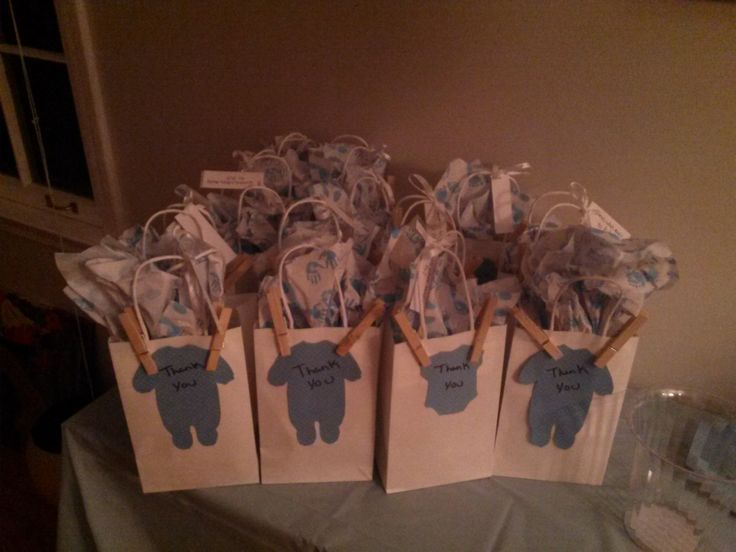 Thank you party favor bags for the guest