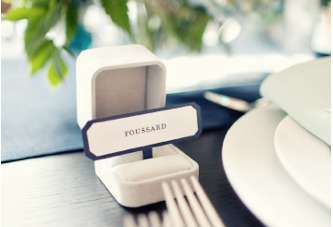 The Ring Box Wedding Place Card is an Adorable Way to Kick Off Dinner #weddinggifts