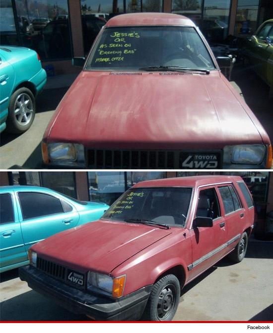 Breaking Bad, Jesse Pinkman's 1984 Toyota Tercel for sale