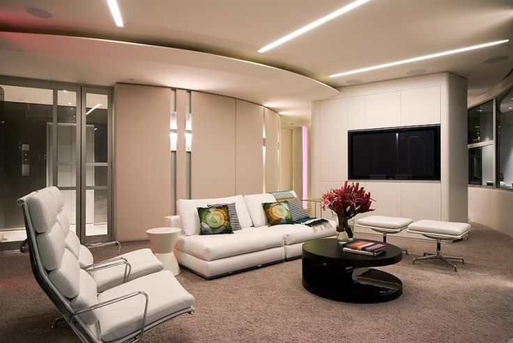 awesome modern apartment glamour interior