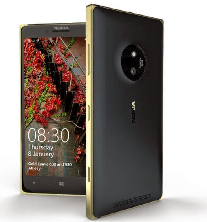 Microsoft Announces Gold Lumia 930 And Lumia 830 Smartphones