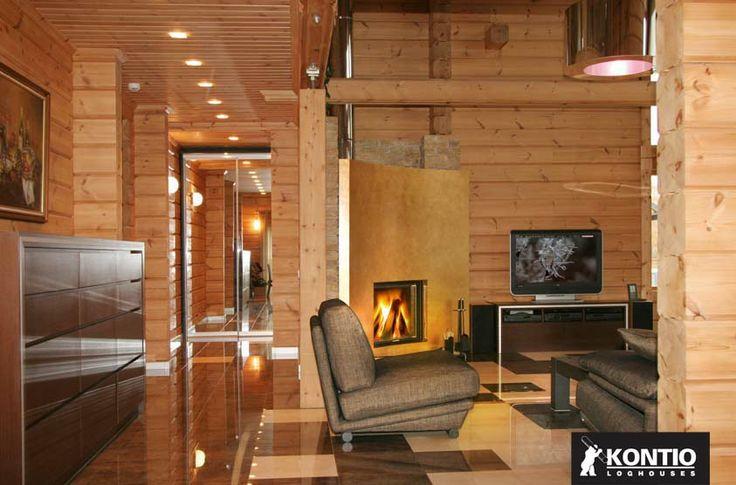 Décoration naturelle de votre maison en bois Kontio.