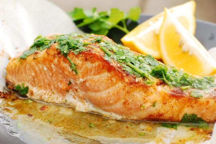 Paleo Herbed Citrus Salmon