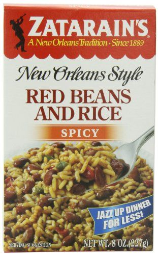 ZATARAINS Spicy Red Beans and Rice 8Ounce Pack of 6 >>> Be sure to check out this awesome product.Note:It is affiliate link to Amazon. 280