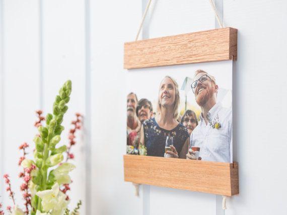 Kaart Frame licht hout teruggewonnen hout kunst aan de muur