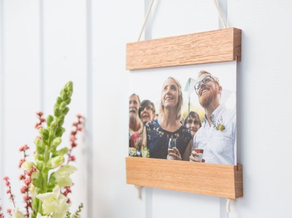 Card Frame, Light Wood, Reclaimed Wood, Wall Art, Greeting Card, Post Card, Photograph, Hanger, Australian Hardwood, Adjustable Design