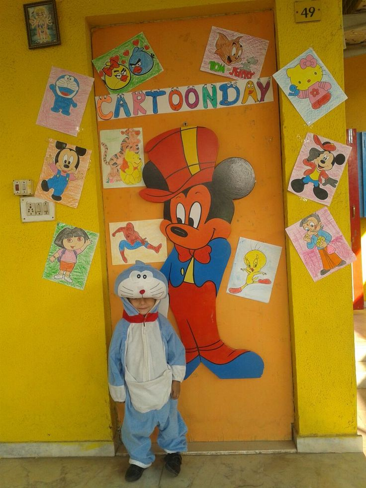 Cartoon Day Celebration at CPrS Bopal