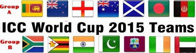 ICC Cricket World Cup 2015 Groups	ICC Cricket world cup 2015 Groups has been chosen. There are 14 groups in world cup and groups are isolated into two Pools or Groups , Pool A / Groups A and Pool B / Groups B. Australia and New Zealand mutually facilitating the world cup 2015. : ~ http://www.managementparadise.com/forums/icc-cricket-world-cup-2015-forum-play-cricket-game-cricket-score-commentary/278696-icc-cricket-world-cup-2015-groups.html