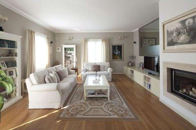 pareti color cappuccino e wenghe mobili : Pareti Color Tortora Scuro : Arredare con il tortora - Soggiorno ...