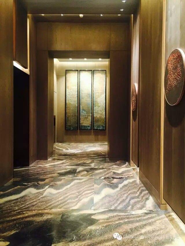 Pin by luxxu modern design living on hotel reception for Hotel corridor decor