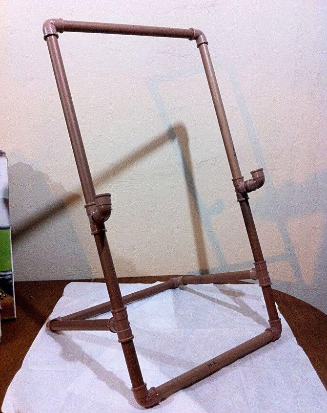 PVC PASSO A PASSO: Cavalete de pvc para pintura em tela