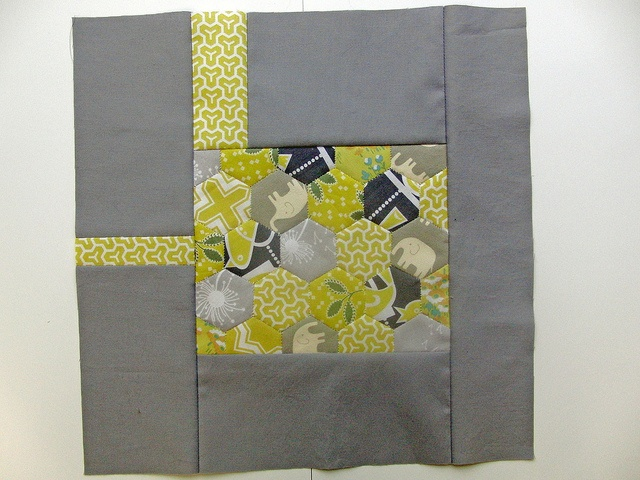 yellow & grey quilt blockQuiltblock, A Block, Quilt Blocks