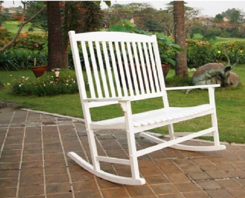...  Outdoor chairs, Metal outdoor chairs and White rocking chairs