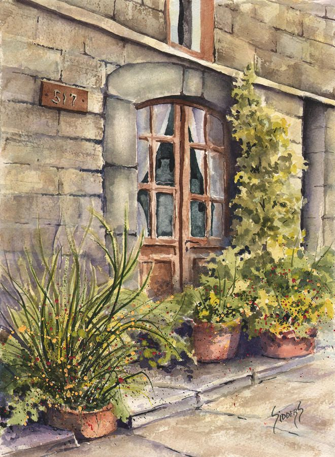 Sam Sidders   WATERCOLOR