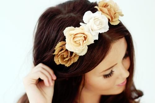 Flower Crown ♥ #beautifulcolours