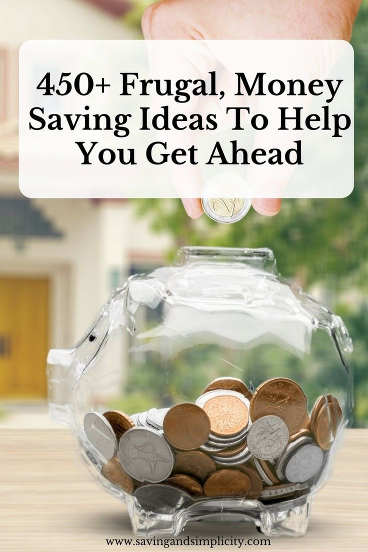 Are you struggling to save money? Here are 450+ easy ways to save money that will help you get ahead.