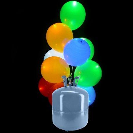 Vous souhaitez à tout prix apporter une petite touche d'originalité à vos festivités?  Pas de panique, nous avons la solution! Pourquoi ne pas organiser un lacher de ballon et surprendre tous vos invités ? 💥 🎈  Soyez le plus cool de la soirée grâce au pack de 30 ballons LED fourni avec une bouteille d'hélium 😎