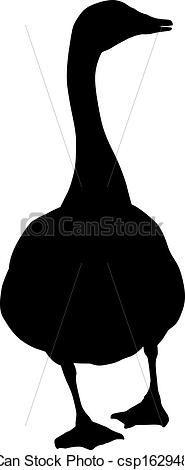 Goose silhouette - csp16294853