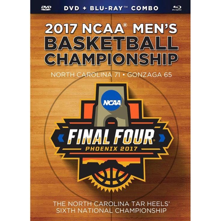 North Carolina Tar Heels 2017 NCAA Men's Basketball National Champions Blu-Ray and DVD Combo Pack