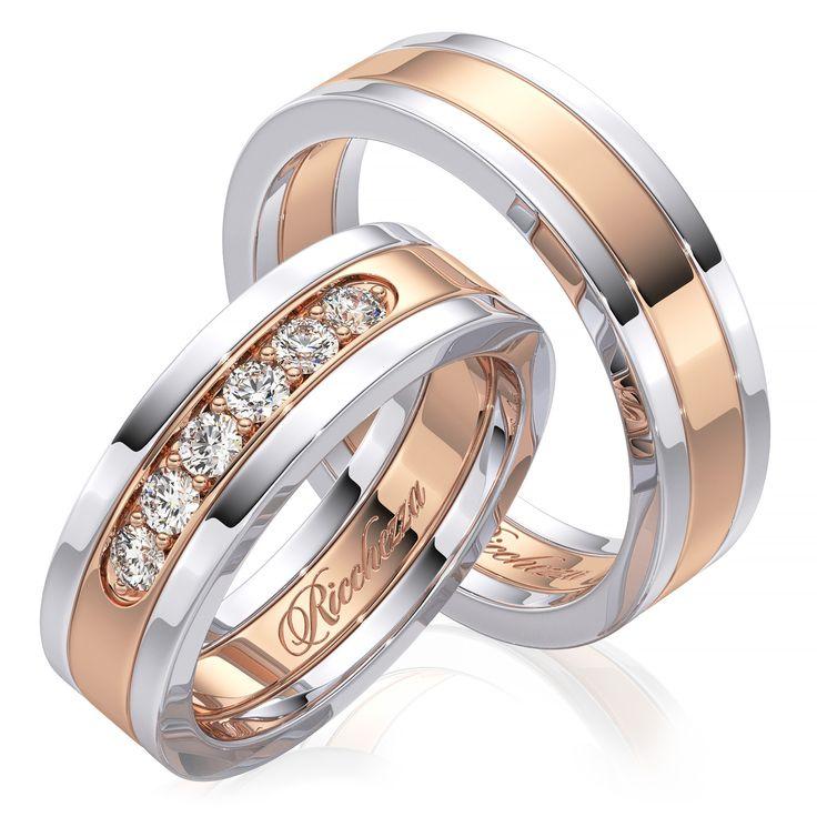 Обручальные кольца фото с бриллиантами