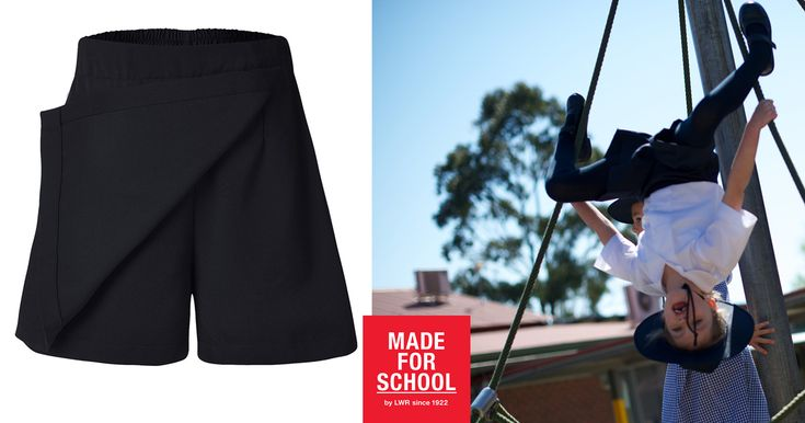 Is it a skirt? Is it shorts? No, it's our Stone Skort! Made for active girls who love spending lunchtime…